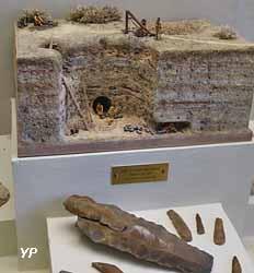 Mine de silex du Néolithique