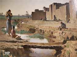 La Séguia, près de Biskra (Gustave Guillaumet, musée d'Orsay)