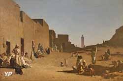 Laghouat, Sahara algérien (Gustave Guillaumet, musée d'Orsay)