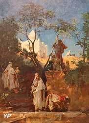 La Source du figuier à Aïn Kerma,  smala de Tiaret (Gustave Guillaumet, Musée des Beaux-Arts de Pau)