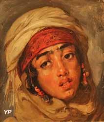 Portrait de jeune fille arabe (Gustave Guillaumet, collection particulière)