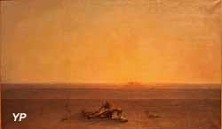Le Sahara, dit Le Désert (Gustave Guillaumet, musée d'Orsay)