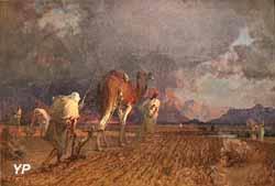 Le labour, frontière du Maroc (Gustave Guillaumet, musée des Beaux-Arts de Limoges)