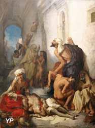 La Famine en Algérie (Gustave Guillaumet, musée des Beaux-Arts d'Alger)