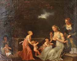 Tendresse maternelle (Marguerite Gérard)
