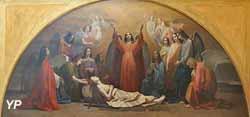 La Mort de sainte Marie-Madeleine (Emile Signol, 1855)