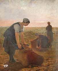 Les Ramasseuses de pommes de terre (Ernest Masson, 1877)