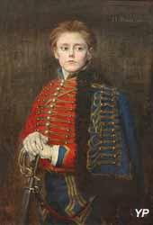 Portrait de Joseph Bara (Jean-Joseph Weerts, 1882)