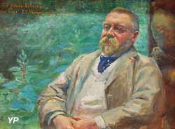 Portrait du peintre Albert Lebourg (Jean-Joseph Weerts)