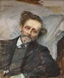 La Fin du poète (Jean-Joseph Weerts, 1909)