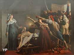 Marat assassiné ! 13 juillet 1793, 8h du soir (Jean-Joseph Weerts, 1880)