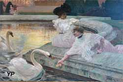 Les Cygnes (Marius Avy, 1900)