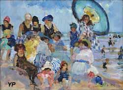 Sur la plage (Martha Walter, 1940)