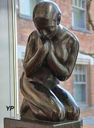 Femme à genoux (Jan Koort)