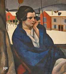 Le châle bleu (Charles Kvapil, 1921)
