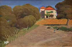 La Maison au toit rouge (Félix Vallotton, 1924)