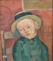 Jeune garçon au chapeau ou Le fils du marin (Émile Bernard, 1889)