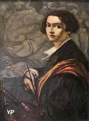 Autoportrait devant Grenade (André Maire)
