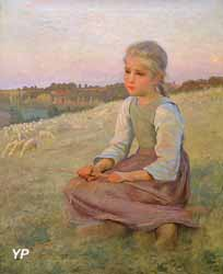 Le Soir sur la lande (André Brouillet, 1898)