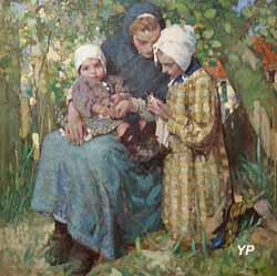 La Leçon de tricot (William Lee Hankey)