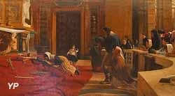 Le Vendredi saint à l'église San Marco à Rome (Rémy Gogghe, 1884)