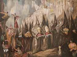 Procession de pénitents noirs à Barcelone (André Maire, 1933)