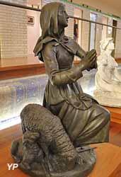 Sainte Germaine de Pibrac (Alexandre Falguière, 1869)