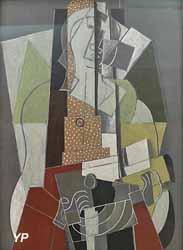 La Joueuse de mandoline (Georges Braque, 1917)