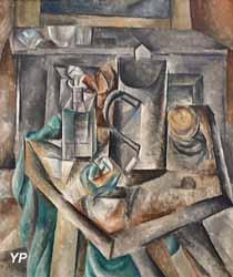 Le Bock (Pablo Picasso, 1909)