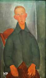 Petit garçon roux (Amedeo Modigliani, 1919)