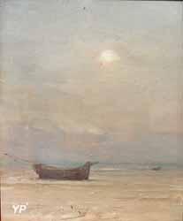 Barque sur la plage (Georges Ricard-Cordingley)