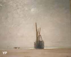 Effet de brouillard d'été à Berck-sur-Mer (Ludovic-Napoléon Lepic)