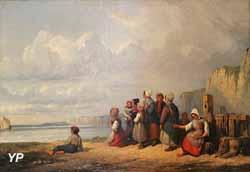 L'attente des pêcheurs (Auguste Delacroix)