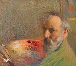 Portrait de l'artiste (Henri Martin, 1910)