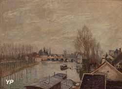 Le pont de Moret-sur-Loing (Alfred Sisley, 1894)