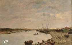 Étaples (Eugène Boudin, 1886)