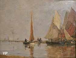 les régates (Eugène Boudin)