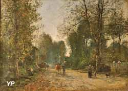 Environs de Trouville (Eugène Boudin, 1878)