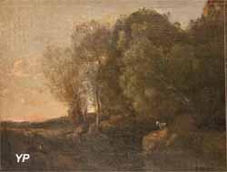Le pressoir de Domfront (Camille Corot)