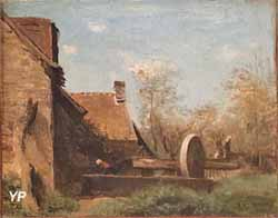 Paysage, matinée environs de Beauvais (Camille Corot)