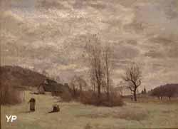 Entrée du bois à Ville-d'Avray (Camille Corot, 1850)