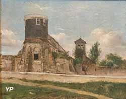 L'ancien télégraphe à signaux de Montmartre (Théodore Rousseau)