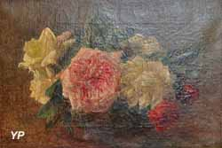 Roses dans un vase (Henri Fantin-Latour)