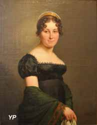 Portrait de femme (Charles Pierre Verhulst)