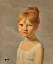 Portrait de petite fille (Pierre-Narcisse Guérin)