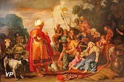 Laban cherchant ses idoles (Pieter Lastman, 1622)
