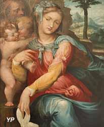 La sainte famille (École de Marco Pino)