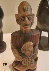 Culture Yoruba : statuette de maternité