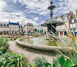 Place Bonnyaud et fontaine des Trois Grâces (Nicolas Neyret)