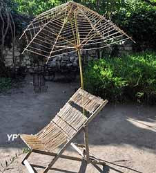 La Chaise longue et le parasol